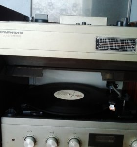 Муз центр- магнитофон ( Романтика) СССР