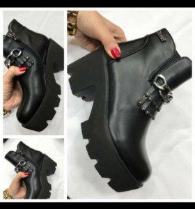 Ботинки новые 4