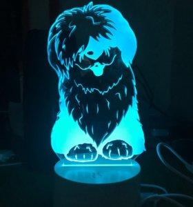 3d светильники, 3д ночник