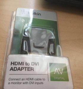 Адаптер HDMI-DVI