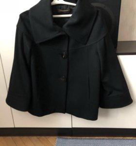 Пальто Zara шерстяное