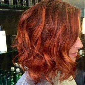 Покраска и ламинирование волос