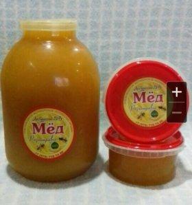 Мед со своей кочевой пасеки (бутыль)