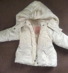 Курточка и комбинезон