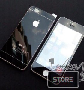 Зеркальные защитные стёкла для iPhone