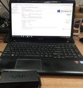Ноутбук Sony Vaio SVE151G17V