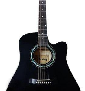 Гитара акустическая VESTON D-37 BK в наличии
