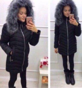 НОВАЯ зимняя куртка, 46