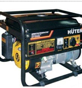 бензиновый электрогенераторHuter DY3000L