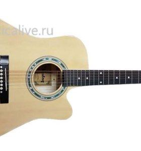 АКУСТИЧЕСКАЯ гитара Veston D-37 nat + чехол