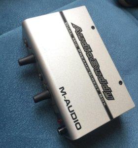 Микрофонный предусилитель M-Audio AudioBuddy