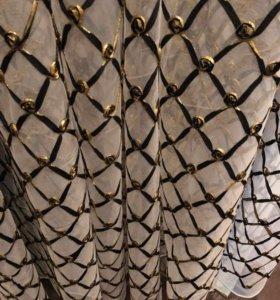 Тюль новый на сетке 4 м