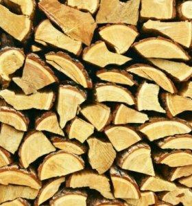 Лиственница сухие дрова!