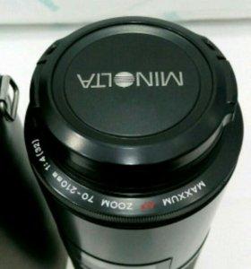 Фото объектив minolta maxxum 70-210