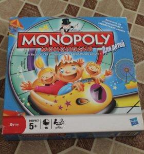 """Настольная игра """"Монополия для детей"""""""