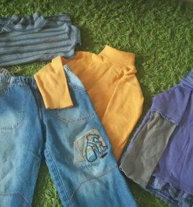 Водолазки,джинсы,жилетка