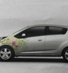 Наклейка декоративная Chevrolet Spark