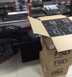 FSD AUDIO Эстрадники новые в упаковках