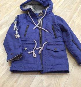 Куртка- жилетка новая