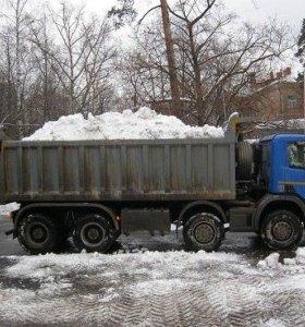 Уборка, вывоз и утилизация снега в Москве