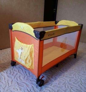 Манеж-кровать переносной