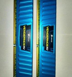 Оперативная память ddr3 8гб(4x2) 1600MHz