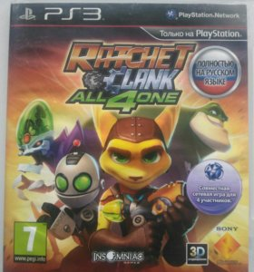 Ratchet and Clank All 4 One ps3