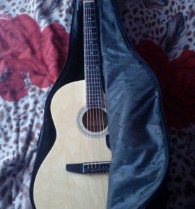 Гитара шестиструнная + чехол