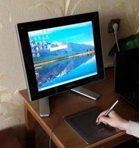 Монитор Samsung + графический планшет