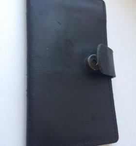 Продам кошелёк ручной работы из натуральной кожи