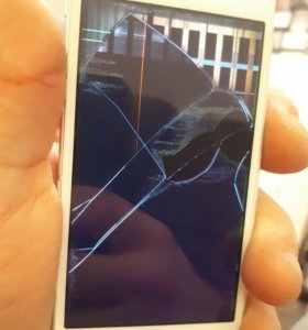 apple iphone 5s silver - 32гб (донор) на запчасти