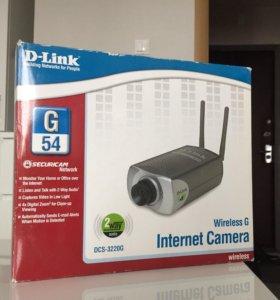 Цифровая интернет камера слежения D-Link DCS-3220G