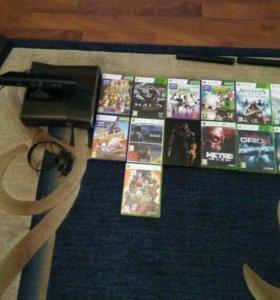 Xbox 360 250GB, ружья работают,kinect,HDMI.