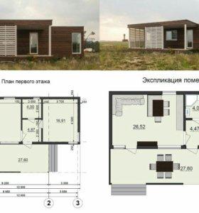 Каркасные дома, мини-гостиница, пристройка