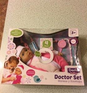 Пупс малыш у доктора