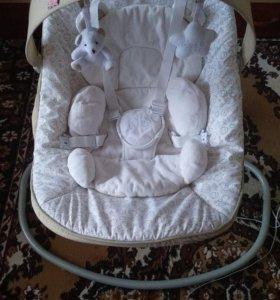 Кресло-качели Happy Baby Dinky
