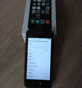 Айфон 5s space gray(обмен)