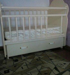 """Детская кроватка """"Мишутка"""""""
