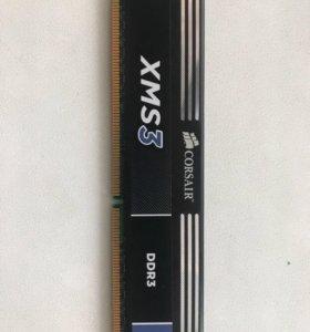 Оперативка CORSAIR DDR3 4gb 1600MHz