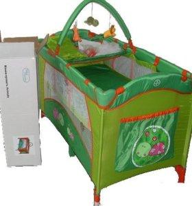Манеж-кровать Bebe Planete Animals