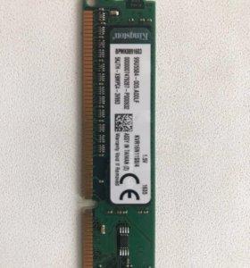 Оперативка Kingston DDR3 4GB 1600MHz