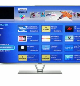 LED телевизор PANASONIC TX-LR42FT, SMART, WI-FI,3D