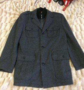 Пальто мужское осеннее