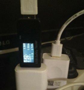 USB tester зарядных устройств