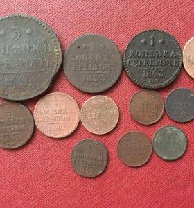 Монеты николай первый