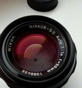 Nikon 50mm 1.4 ai-s