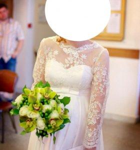 Свадебное платье для беременных и не только