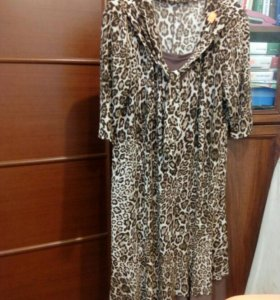 Платье трикотажное, 54-56р