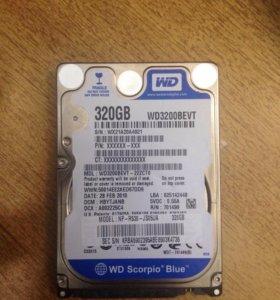 Жёсткий диск / HDD , для ноутбука и ПК