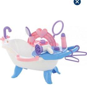 Ванна для кукол ( полесье)